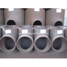 ASME B16.9 Butt-welded pipe bend mengurangi Tee