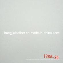 Cinza claro de couro de sofá de estilo romântico (138 #)