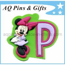 Hot Selling Cartoon Soft PVC Fridge Magnet (FM-02)