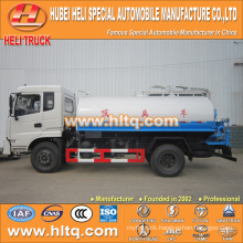 DONGFENG 4x2 8000L dung suction truck 170hp cummins engine
