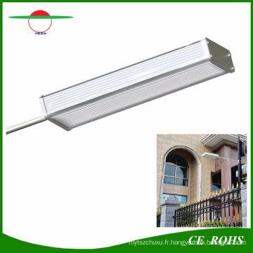 Le jardin de capteur solaire sensible de radar allume l'alliage d'aluminium 48LED L'allumeur flexible extérieur de lampe solaire IP65 le réverbère flexible d'intense luminosité