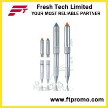 Foguete cabeça caneta estilo USB Flash Drive (D403)