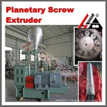 Extrudeuse à vis planétaire à haut rendement pour la production de plastique faisant le profil de tuyau en PVC tornillo planetario