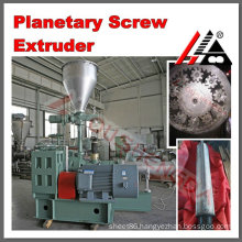 High output planet screw extruder for plastic production making PVC pipe profile tornillo planetario