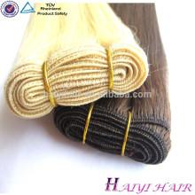 extensión del cabello humano cabello rubio ceniza teje