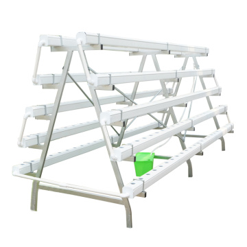 Greenhouse Hydroponic NFT Planting  PVC Pipes