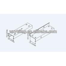 Passé CE et ISO YTSING-YD-0812 Acier CZ Canal Changement rapide Roll Forming Machine Fabricant
