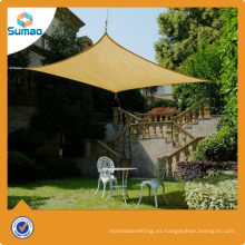 Vela estabilizada UVPE de alta calidad del sol del jardín del HDPE estabilizado
