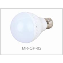 LED Indoor Light E27 Plastic Bulb Lamp 9W