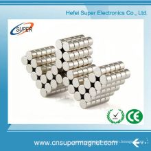 Mini Disc Nickel Cylinder Shape Neodymium Magnet for Sale