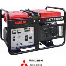 Inicio de uso Honda motor generador Powered (BKT3300)