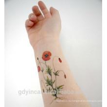 Поставкы фабрики малый размер стикер CMYK для татуировки применяется к лайковой кожи с конкурентоспособной ценой,