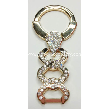 Hot-sell Rhinestone Sandal Trim for Two Strap Sandals