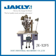 Máquina de fazer sapatos de ajuste duplo-ilhó industrial JK-X2F5