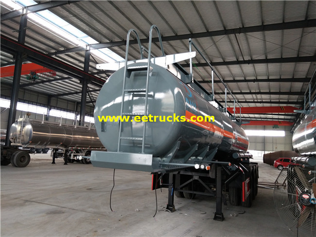 20T Sulfuric Acid Trailer Tanks