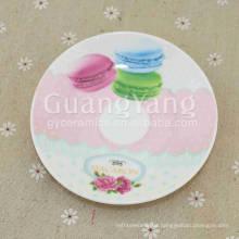 Entrega a corto plazo Juego de placas esmaltadas de porcelana de diferentes colores disponibles