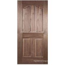 Piel de la puerta de la mejor calidad / piel moldeada de la puerta del hdf / piel revestida de la puerta