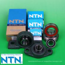 Diferentes tipos de rolamentos de rolos planos para equipamentos industriais. Fabricado pela NTN Corporation. Feito no Japão