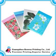 Bloc de notas de impresión promocional personalizado de rasgado de precio de fábrica