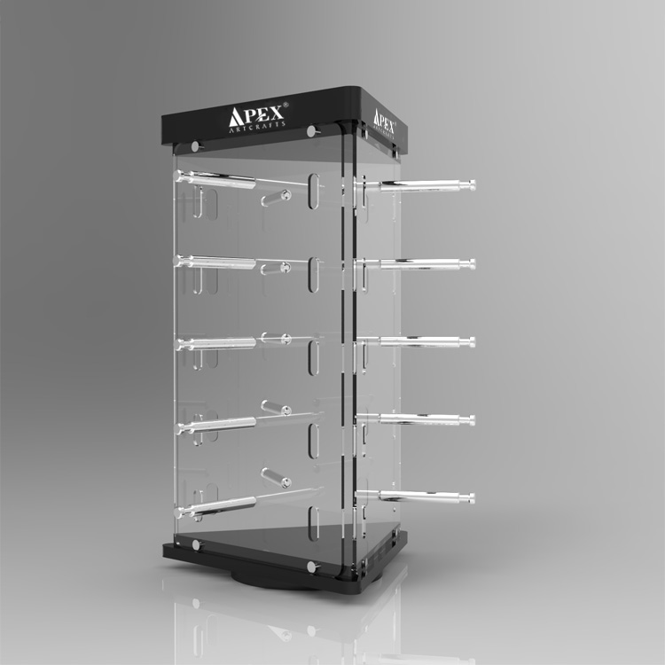 Acrylic Optical Display Cases Stands