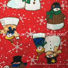 Best Selling Beautiful X′mas 100%Cotton 32X32s 68X68 Roll Fabric