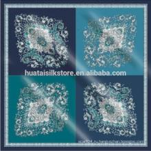 Модные итальянские пейсли большие шелковые шарфы