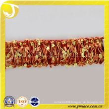 curtain braid beaded with fringe trimmings pincel nappa