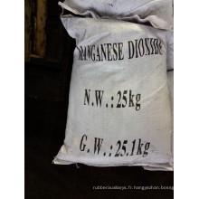 Agent adsorbant dépolarisant de bioxyde de manganèse verre industrie