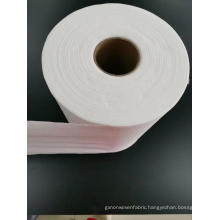 Cross Lapping Spunlace Nonwoven For Wet Wipes