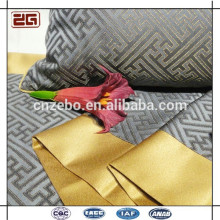 Atacado alta qualidade personalizada 100% poliéster Hotel Bed Scarves Bed Runner