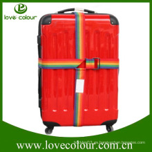 Cinturón ajustable de equipaje de poliéster ajustable a medida