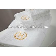 Toalha de algodão 100% de alta qualidade de guangzhou hotel toalha fabricantes
