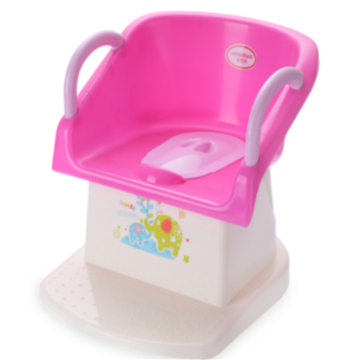 Asiento para inodoro Safe Infant Potty Chair con reposabrazos
