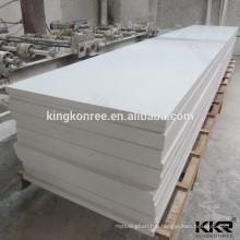 white acrylic solid surface sheets for bending bar tops and meeting tables