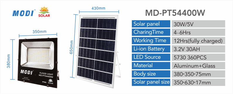 Smd Solar Flood Light