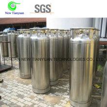 1,4 MPa Pression de travail Lo2 / Ln2 / Lar Cryogenic Low Temperature Cylinder