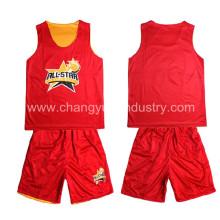 Mens moda nuevo estilo baloncesto ropa deportiva para el entrenamiento