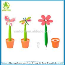 Todos os tipos de caneta de mesa flor estilos para brindes promocionais