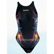 Fato de banho profissional do fabricante de Jinjiang para mulheres, swimwear de uma parte