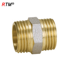 L 17 4 12 external thread pipe fittings screw fitting Brass threaded fitting