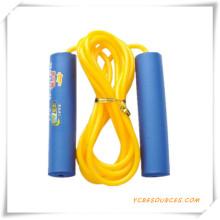Entrenamiento Cuerda de salto de velocidad de cuero para promoción (OS07021)