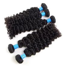 Venda quente russo loira Kinky Curly Hair Weave extensões baratos Dark Root Bonde cabelo feixes Venda quente russo loira Kinky Curly Hair Weave extensões baratos Dark Root Bonde cabelo feixes