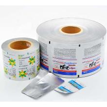 3 ply aluminum foil film sachet packaging roll film