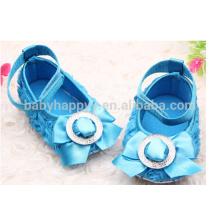 Niños Fancy Party Girls Blue zapatos de vestir MOQ300