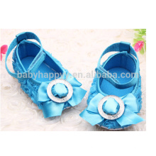 Kids Fancy Party Girls Robe bleue Chaussures MOQ300