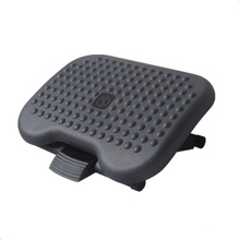 Steel angle adjustable massage footrest for office