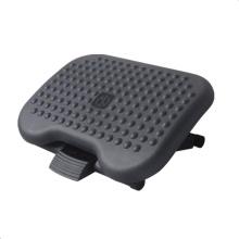 Apoio de pés de massagem ajustável de ângulo de aço para escritório