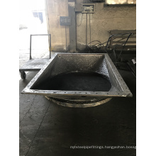 Hard Facing Overlay Square to Round Flange