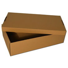 Corrugated Shoe Packing Box for Kids with Handle