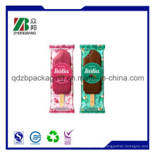 Food Grade Back Seal Ice Popsicle Cream Packaging Bags